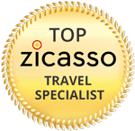top zicasso travel specialist logo